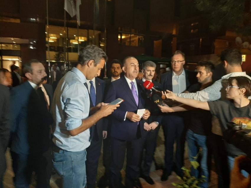 """Bakan Çavuşoğlu: """"Belaruslu diplomatın sağlığı iyi"""""""