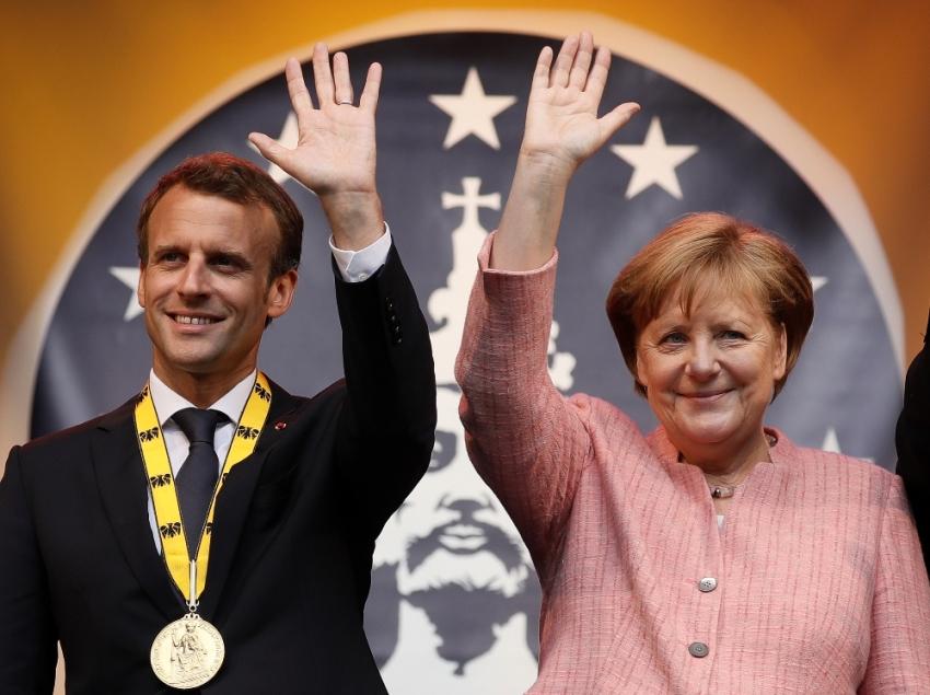 Macron'dan Avrupalı liderlere: Uyanın