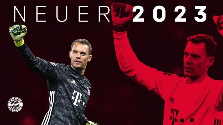 Manuel Neuer'in sözleşmesi 2023'e kadar uzatıldı