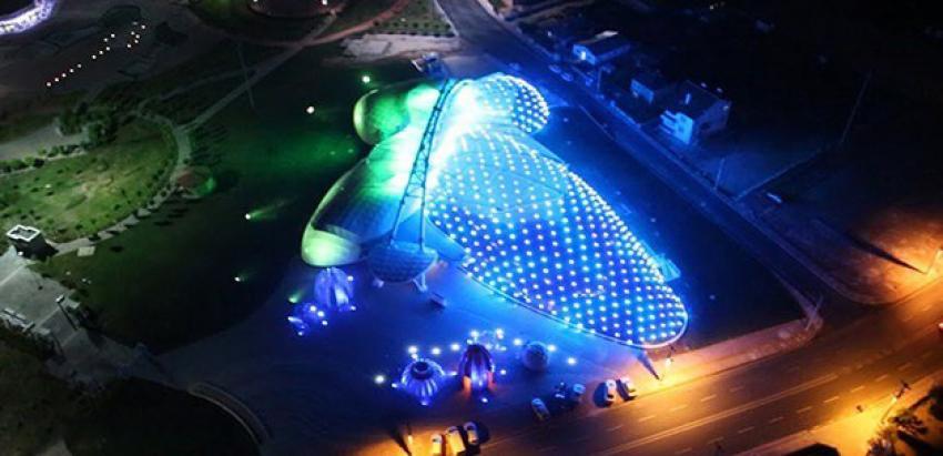 Açılışını Davutoğlu yapacak! Avrupa'nın en büyük Tropikal Kelebek Bahçesi