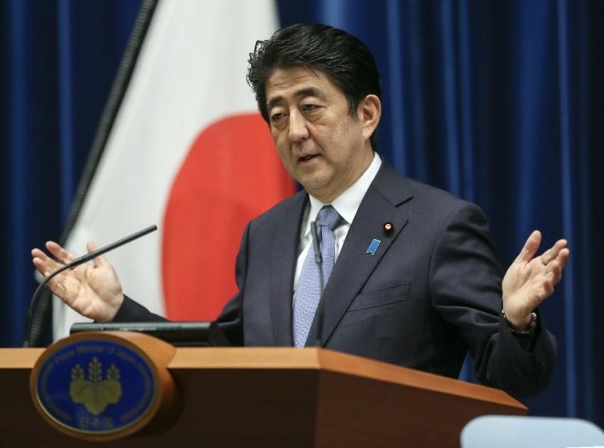 Abe: Kuzey Kore'nin füze demeleri G7'de görüşülmeli