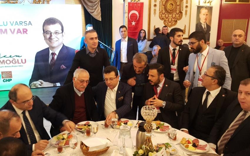 İmamoğlu İstanbul'da kanaat önderleriyle buluştu