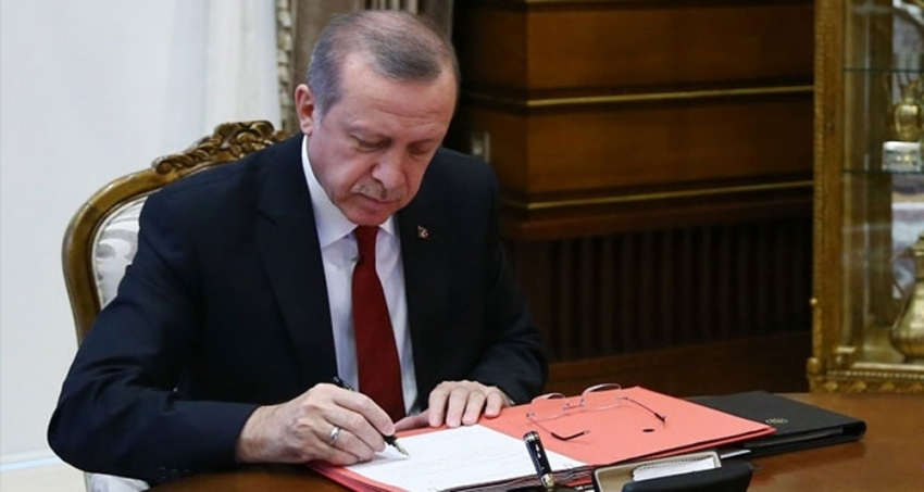 Cumhurbaşkanı Erdoğan'dan 10 kanuna onay