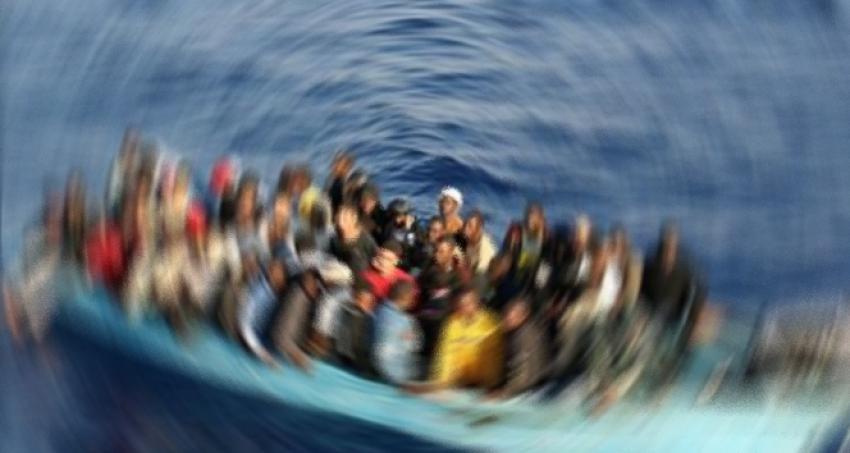 Ege Denizi'nde 1083 kaçak göçmen...