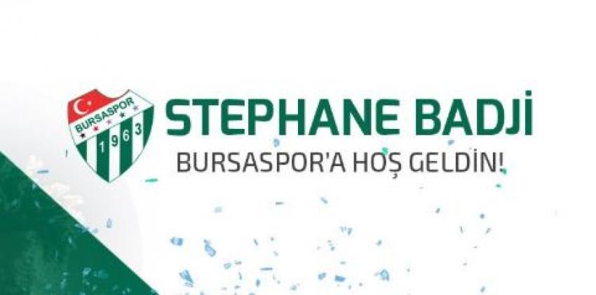 Bursaspor Badji'yi açıkladı.