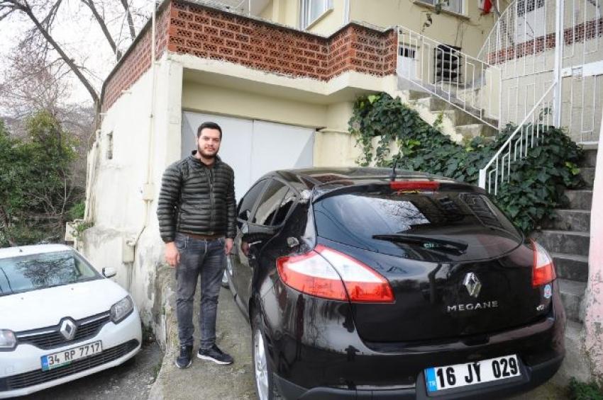 Bursa'da kendi arabasını başkasının sattığını öğrenince polise koştu