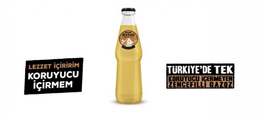 Efsane Uludağ Gazozu'ndan lezzet alternatifi; Zencefilli Gazoz
