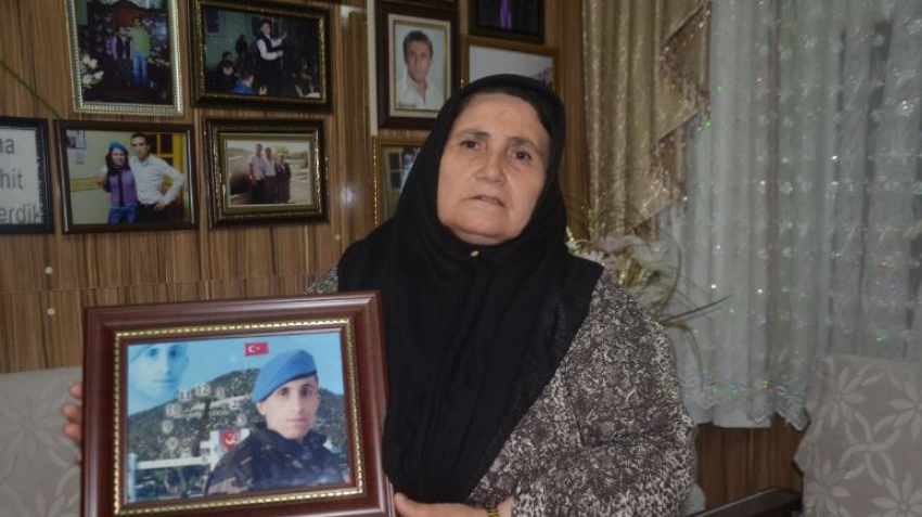 Bursa'da saldırıya uğrayan şehit annesi konuştu