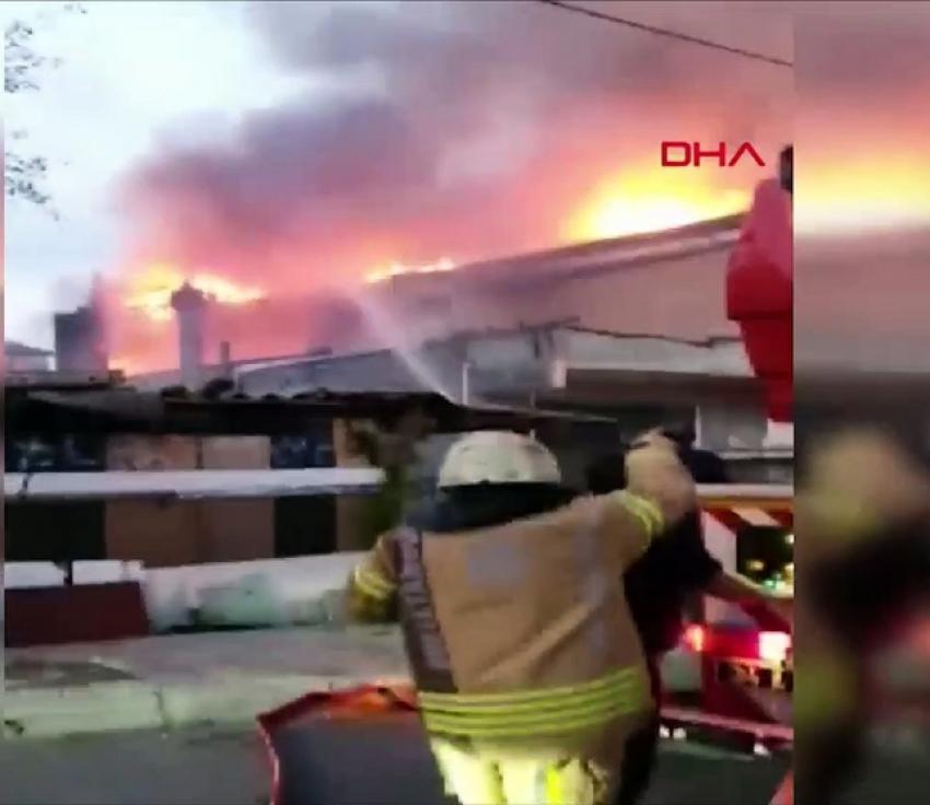 İstanbul'da korkutan yangın! Büyük çapta hasar oluştu
