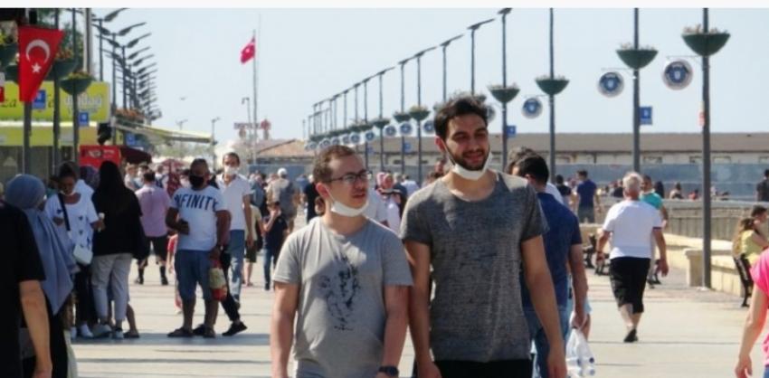 Bursalılar akın etti! Mesafe ve maske unutuldu