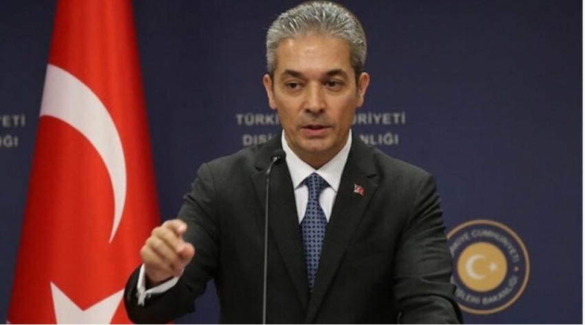 """Aksoy: """"Akdeniz'de gerginliği arttıran taraf Türkiye değil, Yunanistan'dır"""""""