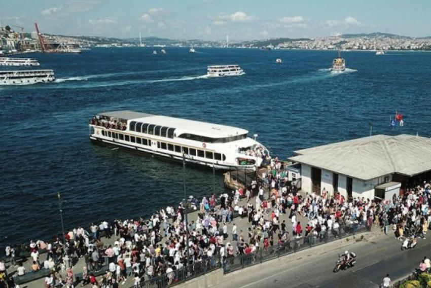İstanbul'da korkutan manzara!