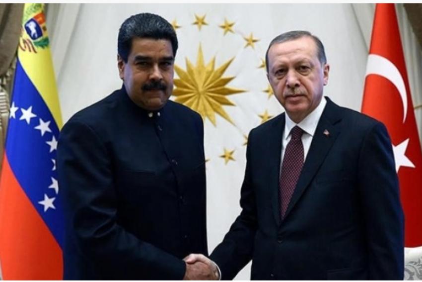 Erdoğan, Maduro'yla telefonda görüştü