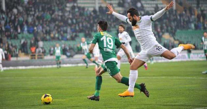 Akhisar ile Bursaspor 6. randevuda