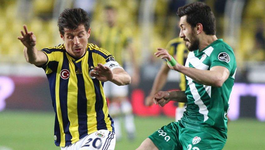 Emre Bursaspor'a karşı yok!