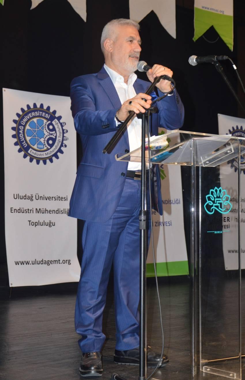 Uludağ Üniversitesi Endüstri Mühendisliği Topluluğu - 12. Endüstri Mühendisliği ve Sanayi Zirvesi