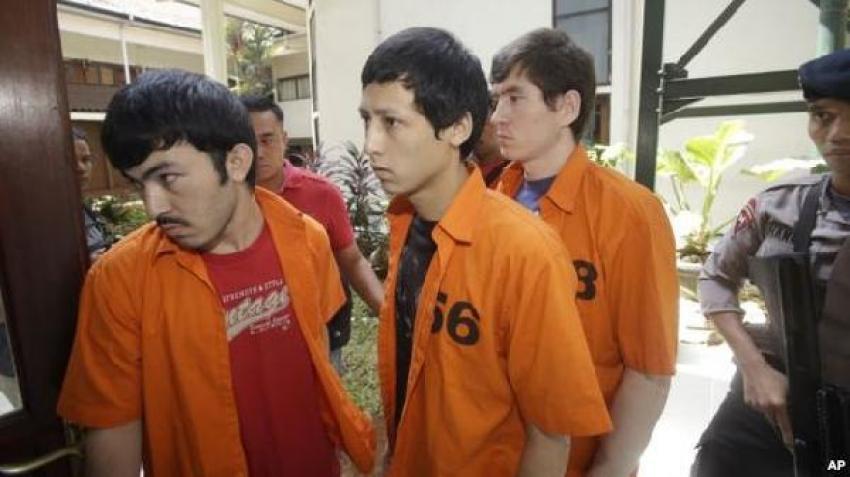 Endonezya'da 3 Uygur Türk'ü hapis cezasına çarptırıldı