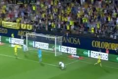 Enes Ünal'ın Villarreal formasıyla attığı ilk gol