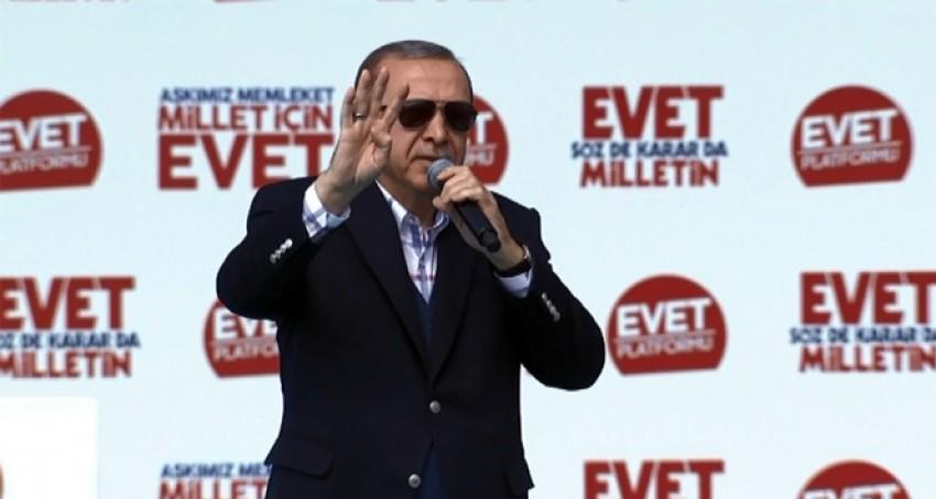 Erdoğan: 'Kimi denize döküyorsun görelim'