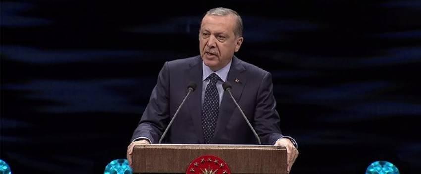 """Erdoğan: """"200'e yakın DEAŞ'lı öldürüldü"""""""