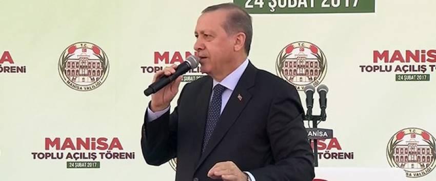 """Erdoğan: """"Rejimi değil, yönetim sistemini değiştiriyoruz"""""""