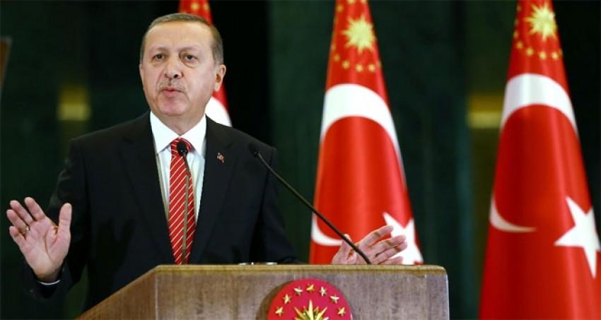 Erdoğan: 'DEAŞ'la mücadele başka terör örgütüyle yapılamaz'