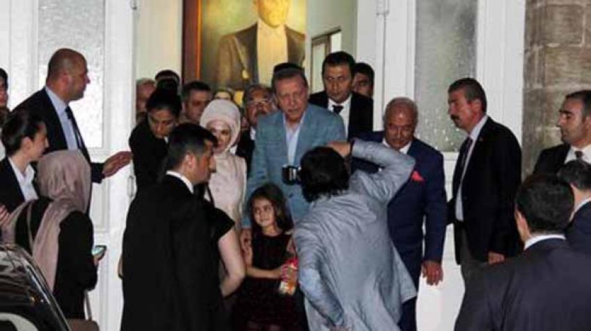 Erdoğan'dan MHP'li belediyeye süpriz ziyaret