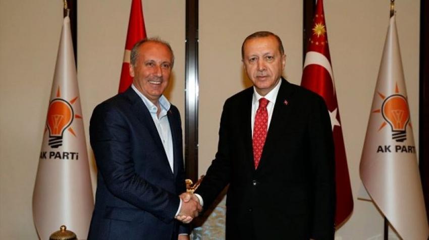 Cumhurbaşkanı Erdoğan'dan, Muharrem İnce açıklaması