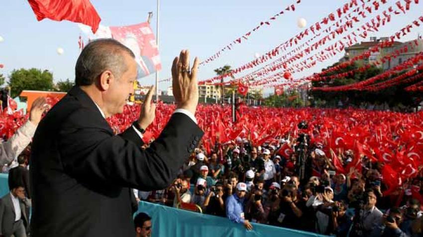 Erdoğan devreye girdi AK Parti'nin oyları...