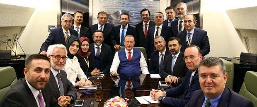 Cumhurbaşkanı Erdoğan'dan istifa açıklaması