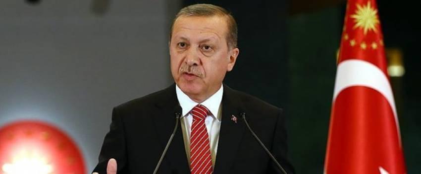 """Erdoğan:""""Parlamento çalışmaz hale gelirse erken seçim düşünülür"""""""