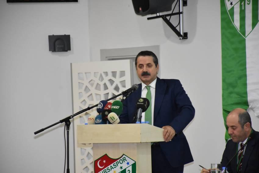 Faruk Çelik'ten Bursaspor açıklaması!