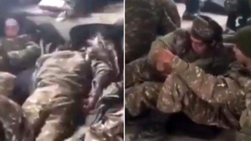 Ermenistan ordusunun savaş durumundaki içler acısı hali