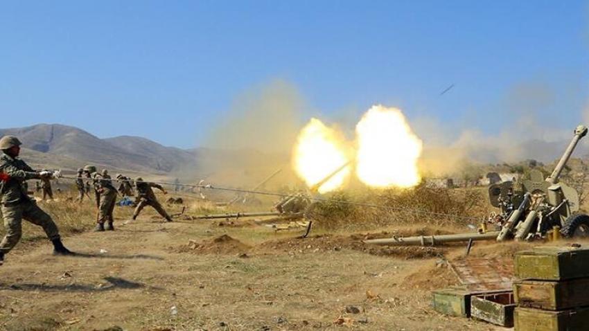 Azerbaycan ordusu Ermenistan'a ağır darbe vurdu!