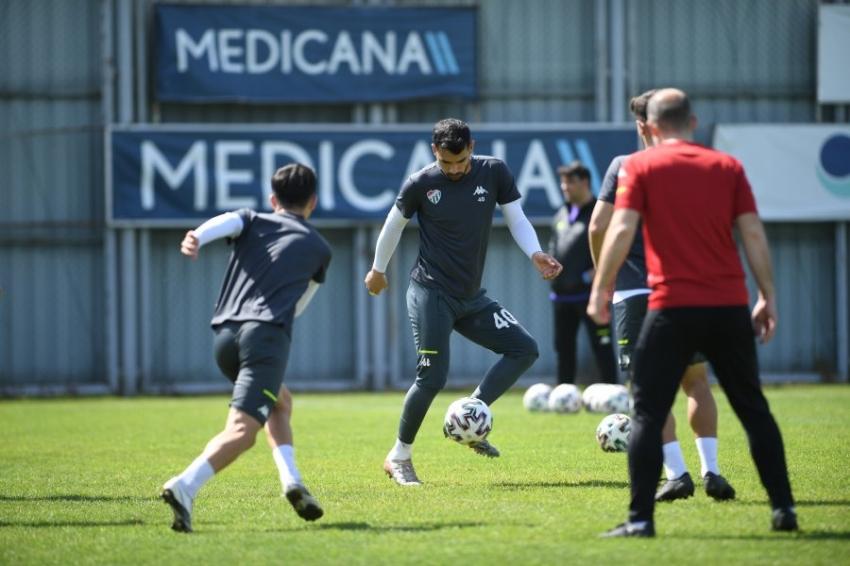 Bursaspor Eskişehirspor maçı hazırlıklarını tamamladı