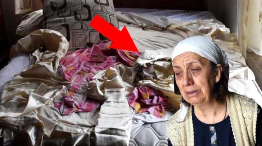 Yaşlı kadın şokta: Eşyalarım kendiliğinden yanıyor!