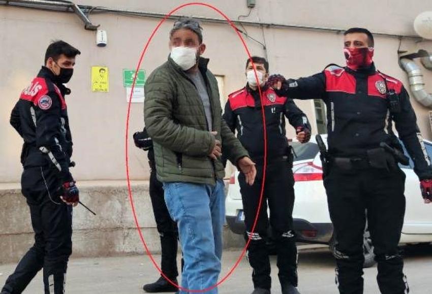 Bursa'da topluma virüs saçan şahıs...