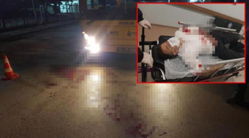 Belediye otobüsü şoförüne saldırı
