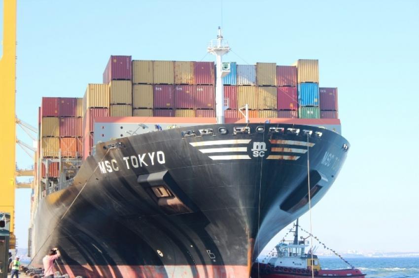 O limana ilk gemi geldi