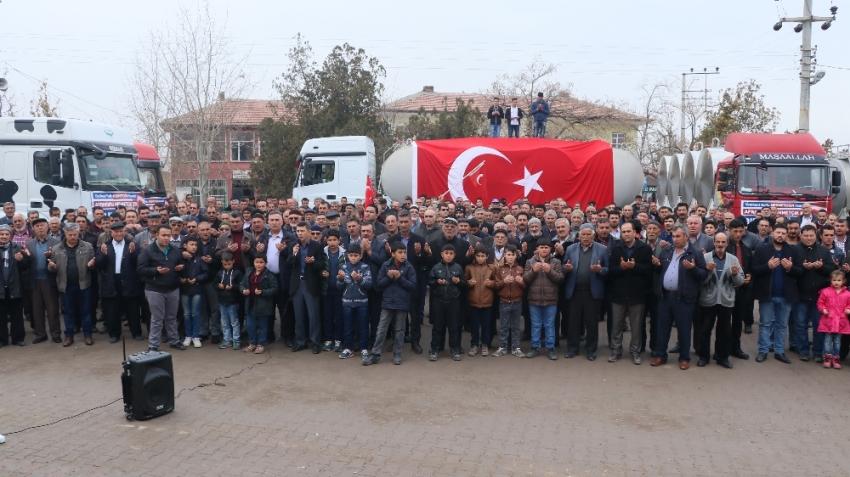 Mehmetçiğe 100 ton süt bağışladılar