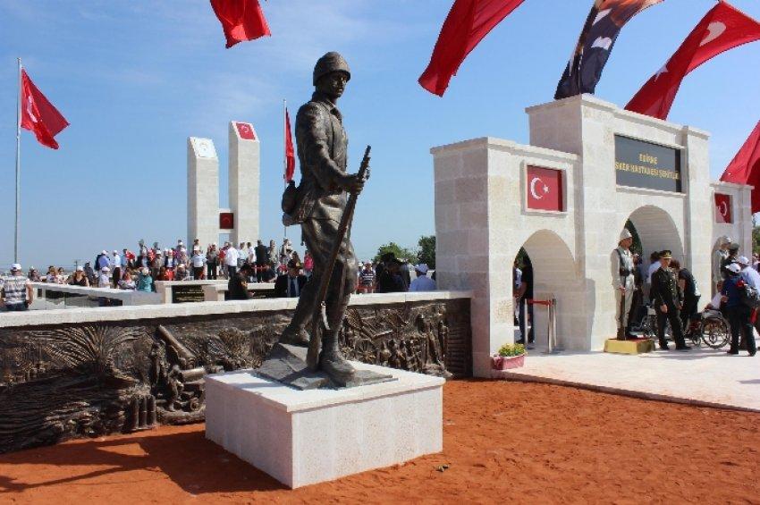 Türkiye'nin en büyük ikinci şehitliği açıldı