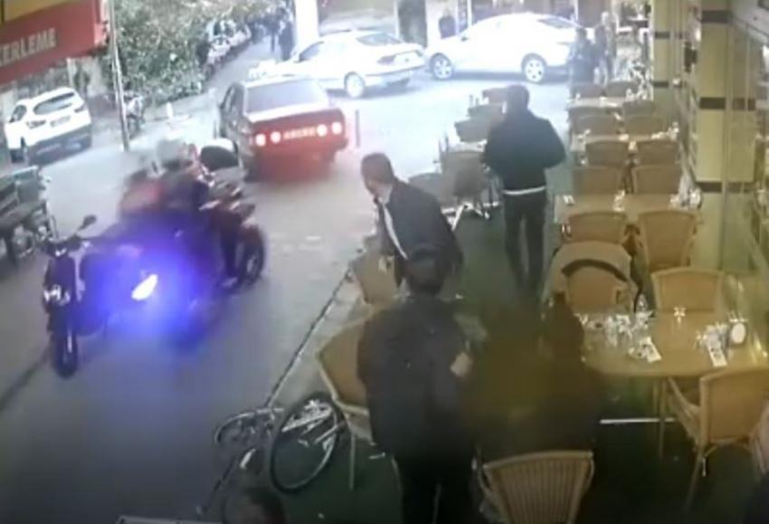 Polisin 'dur' ihtarına uymayan sürücü ortalığı birbirine kattı