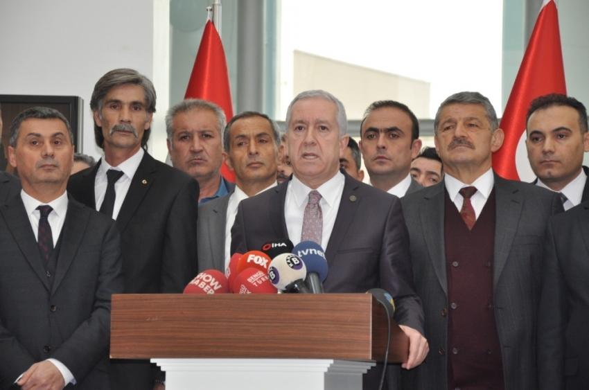 MHP'den istifa eden başkana sert eleştiri