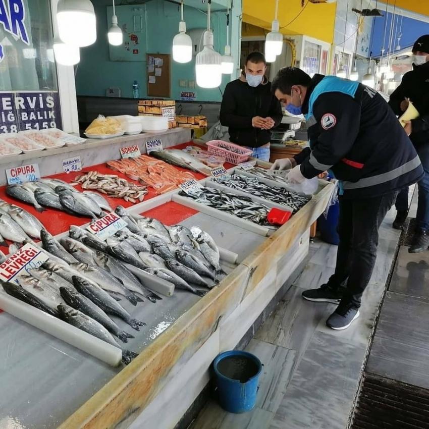 Balıklara asgari boy denetimi
