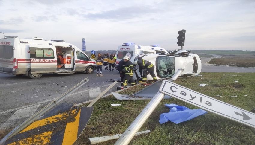 Feci kaza: 1'i ağır 5 yaralı