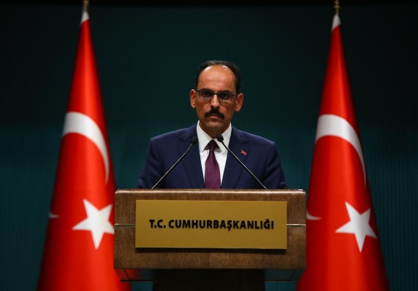 """""""PKK'yı terör örgütü kabul ettikten sonra Suriye koluna destek vermek terör örgütüne destek vermektir"""""""