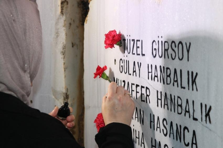 Depremde hayatını kaybedenler anıldı