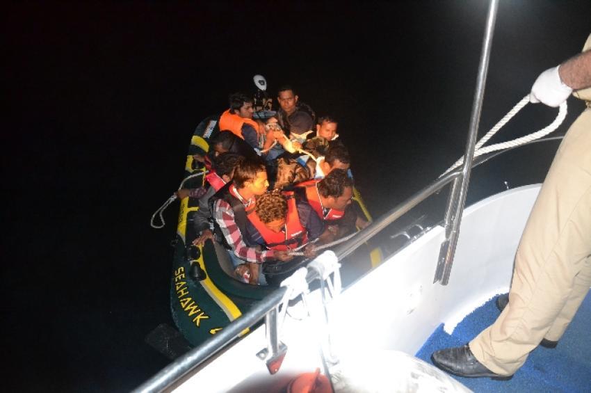 705 kaçak göçmen kurtarıldı