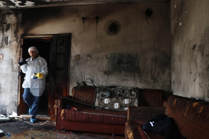 Konya'da yangın: 9'u çocuk 12 kişi hastanelik oldu