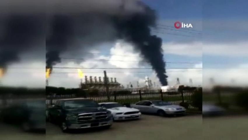 Teksas'taki rafineri yangınında yaralıların sayısı 37'ye çıktı